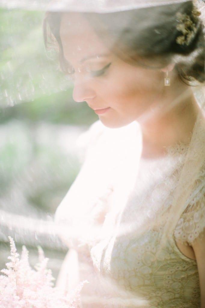 Nashville Garden Wedding Ethereal Bride