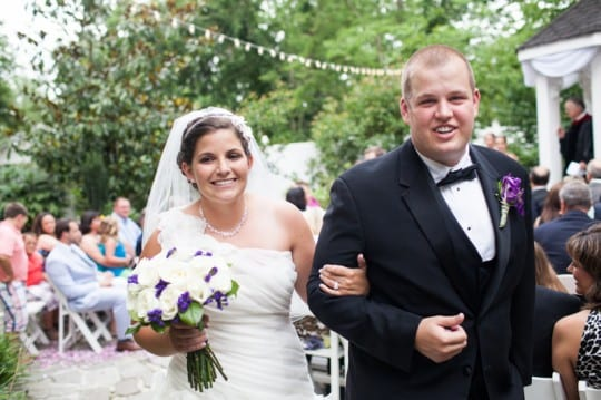 Just Married at Nashville Wedding Venue CJ's Off the Square