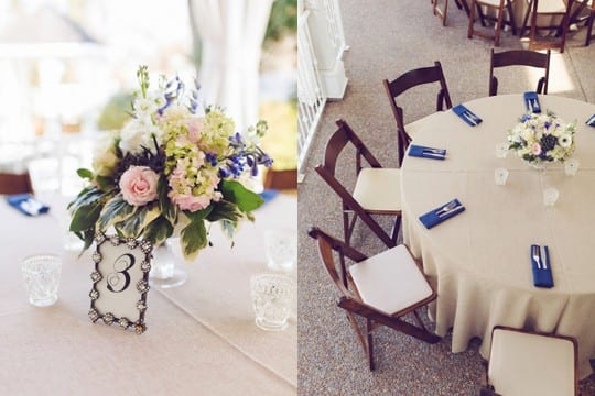 CJ's Off the Square, Outdoor Garden Wedding Navy and Blush, Amy Nicole Photo (5)