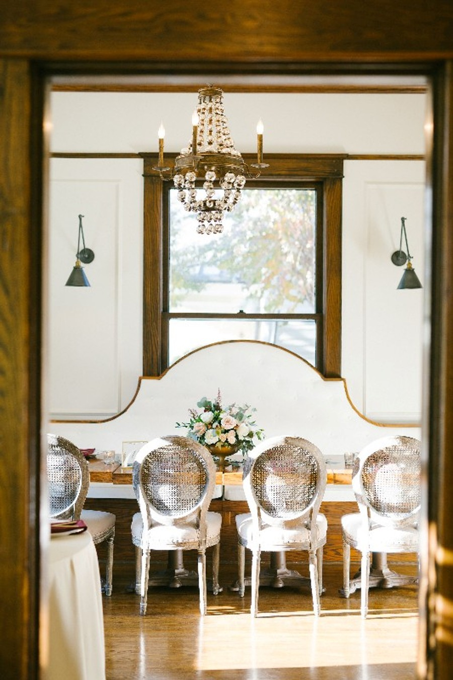 Inside the south parlor Nashville wedding venue CJ's Off the Square